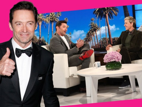 Hugh Jackman makes sweet deal to pose topless for paparazzi