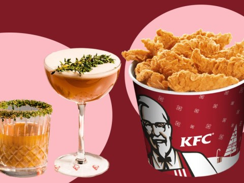 KFC launches a questionable range of gravy-infused cocktails