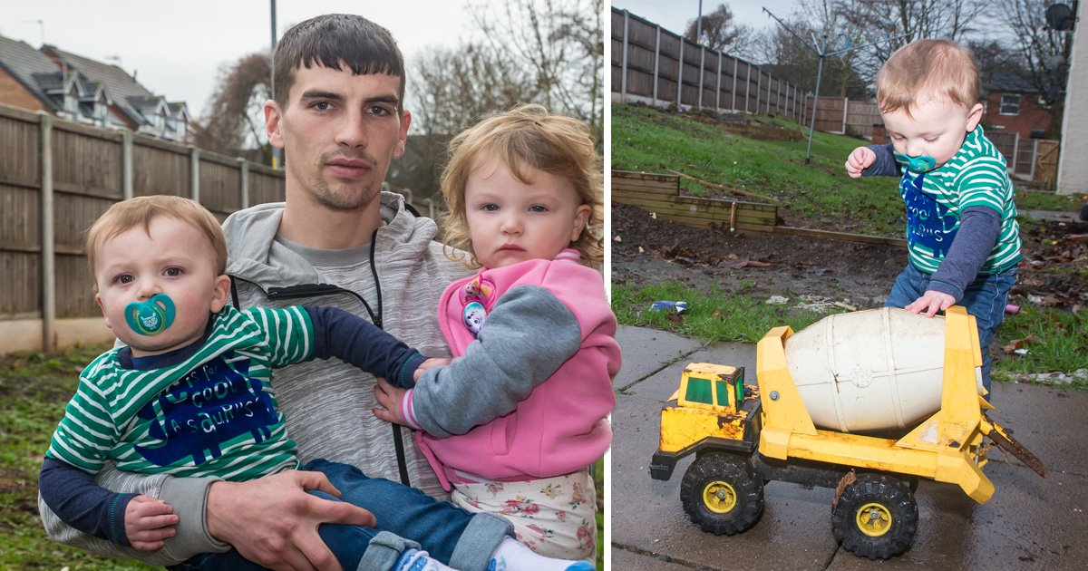 Dad fined £900 for leaving his kids' toys in communal garden