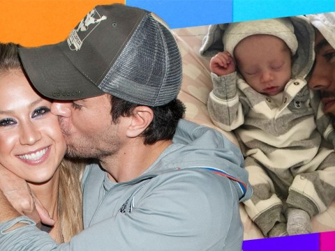 Enrique Iglesias reveals first photo of baby after secretly welcoming twins with Anna Kournikova