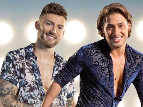 Kem Cetinay and Jake Quickenden have to be separated on Dancing On Ice because they won't behave