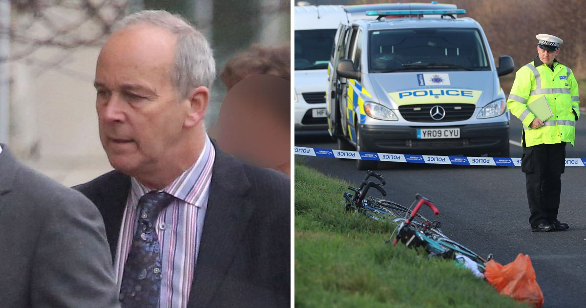 Doctor facing murder trial now fighting for life after bike crash