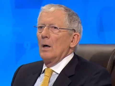 Nick Hewer can't believe the 'asswipe' on Countdown