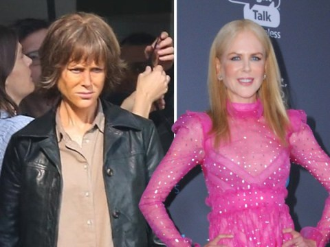 Nicole Kidman has a dramatic make-under on set of new thriller Destroyer