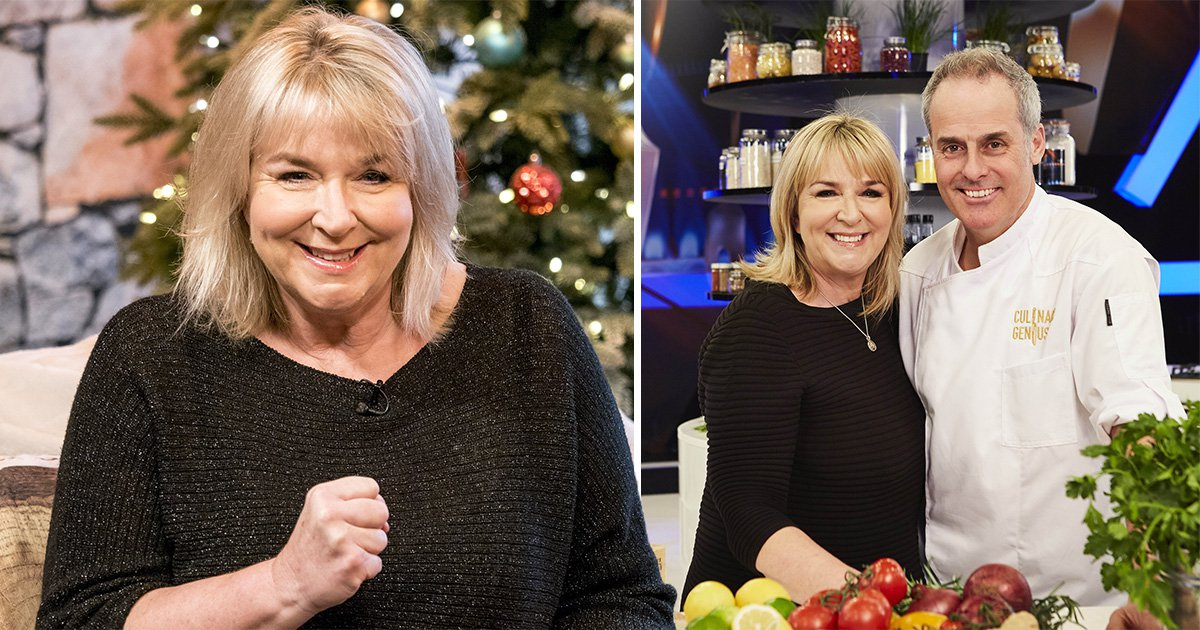 Fern Britton would rather have a cup of tea than sex