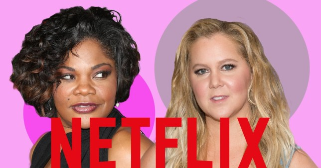 Mo'Nique and Amy Schumer