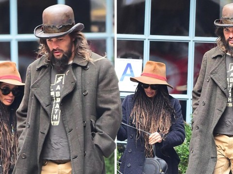 Jason Momoa dresses up for lunch with Lisa Bonet as he reveals Game of Thrones nearly ruined his career