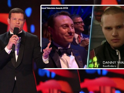 Dermot O'Leary jokingly calls out NTAs producers as wrong soap stars appear on-screen in awkward gaffe