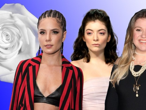 Stars will wear white roses to the Grammys in support of #TimesUp