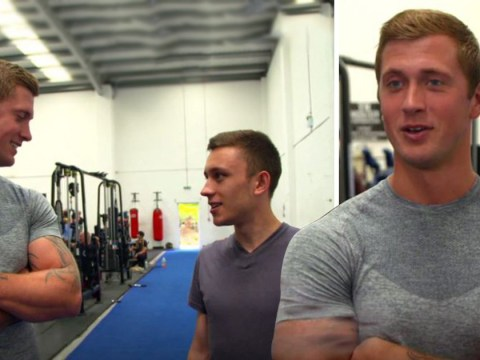 'Sweet Jesus!': Towie fans thrilled as Dan Osborne returns to TV for surprise gym appearance