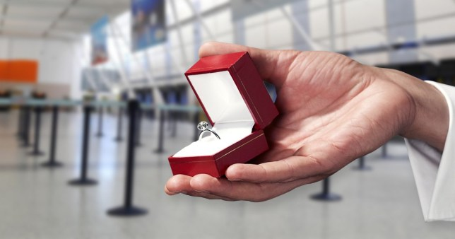 Planning to propose abroad? Airport introduces secret code if you call up before so your secret isn't revealed
