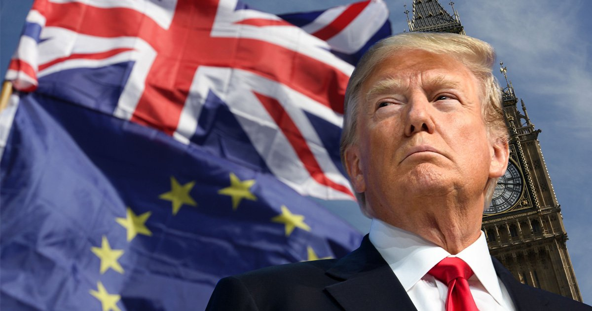 Donald Trump says he would be 'tougher' in Brexit talks than Theresa May