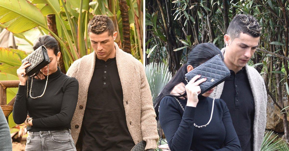 Cristiano Ronaldo celebrates girfriend Georgina's birthday in Marbella following Rhian Sugden text scandal