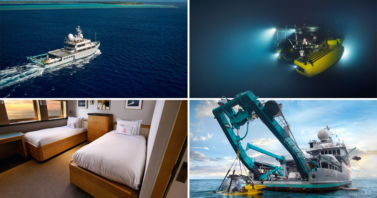 You can now stay in the Blue Planet II submarine