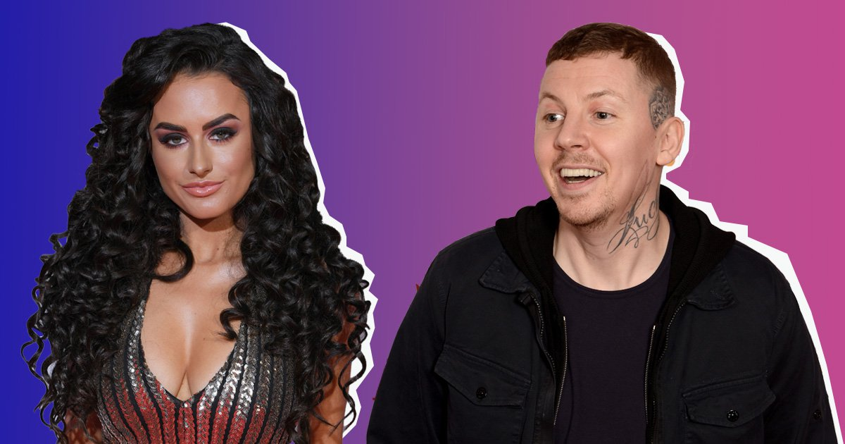 'Rookie mistake of the year': Professor Green roasts Amber Davies over 'white powder' selfie