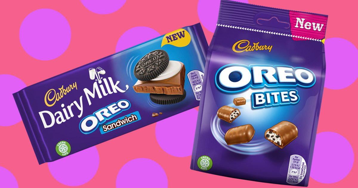 New Dairy Milk bar has full-size Oreos