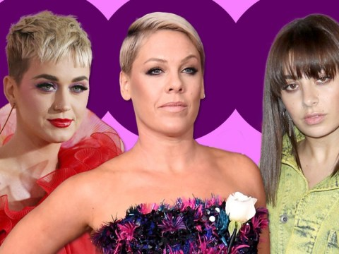 Katy Perry and Charli XCX join 'powerful' Pink in slamming Grammys President 'step up' comment