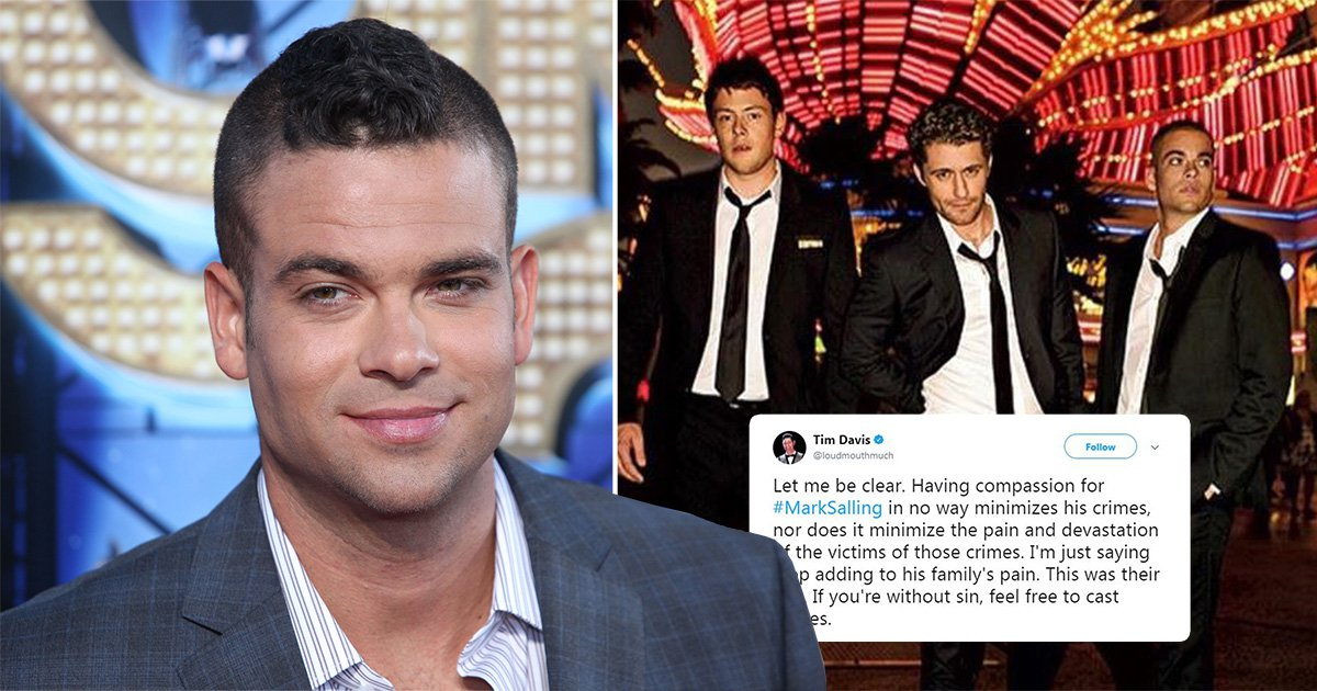 Glee cast and crew pay tribute to Mark Salling: 'Having compassion in no way minimises his crimes'