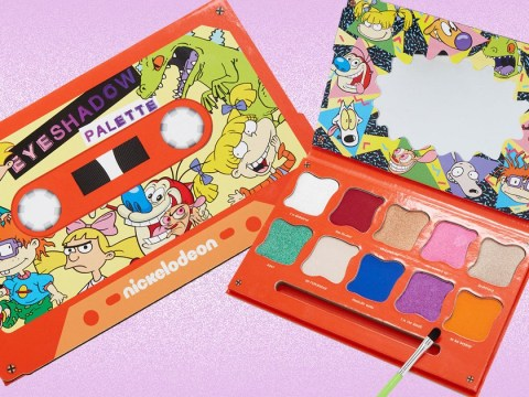 Nickelodeon releases its own retro 90s eyeshadow palette
