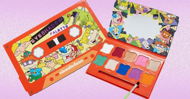 Nickelodeon eye shadow palette