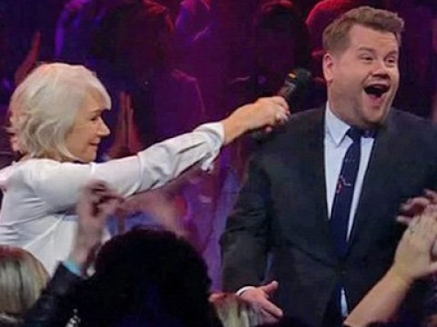 Helen Mirren owns James Corden in rap battle, proves she's truly The Queen