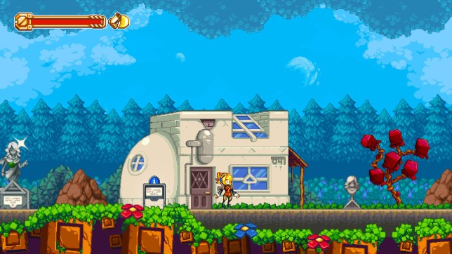 Iconoclasts (PS4) - neo-retro graphics