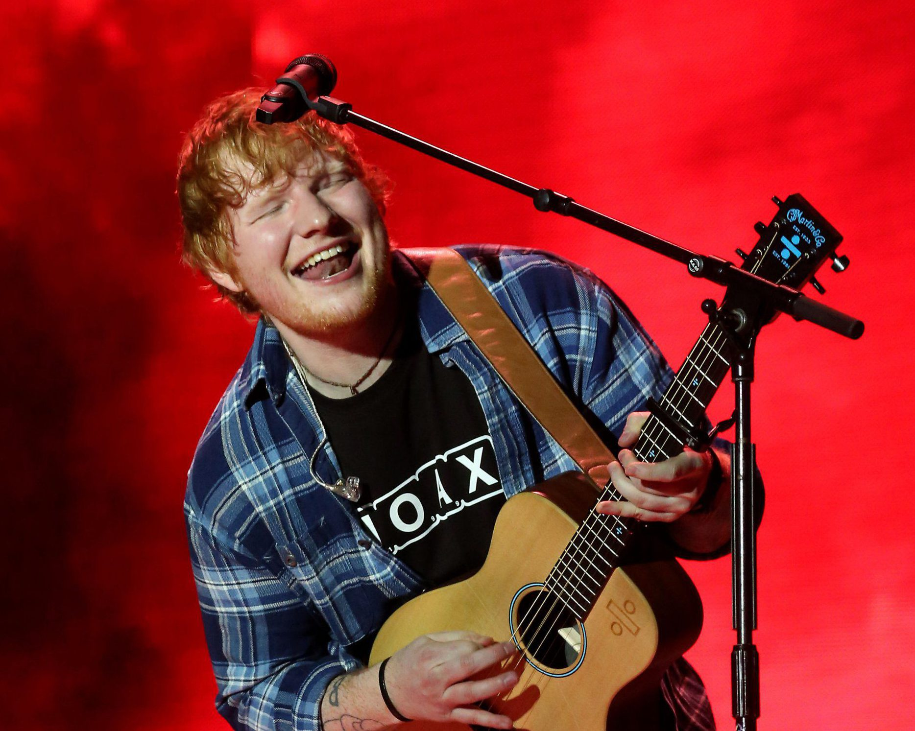 Ed Sheeran notches up another success as he's announced as headliner for War Child Brits Week gig