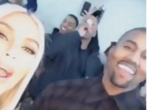 Kim Kardashian slams rumours she partied on NYE while son Saint was in hospital