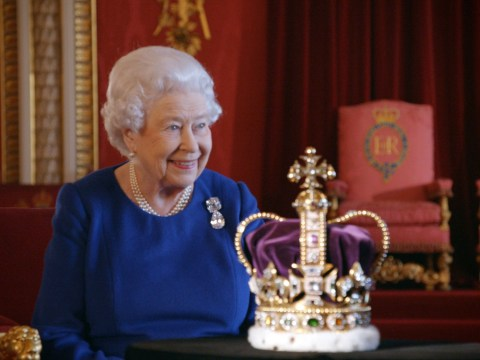 Queen's crown jewels were hidden in a biscuit tin during World War Two