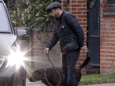 Ant McPartlin collects dog Hurley from home as wife Lisa Armstrong 'struggles to accept split'