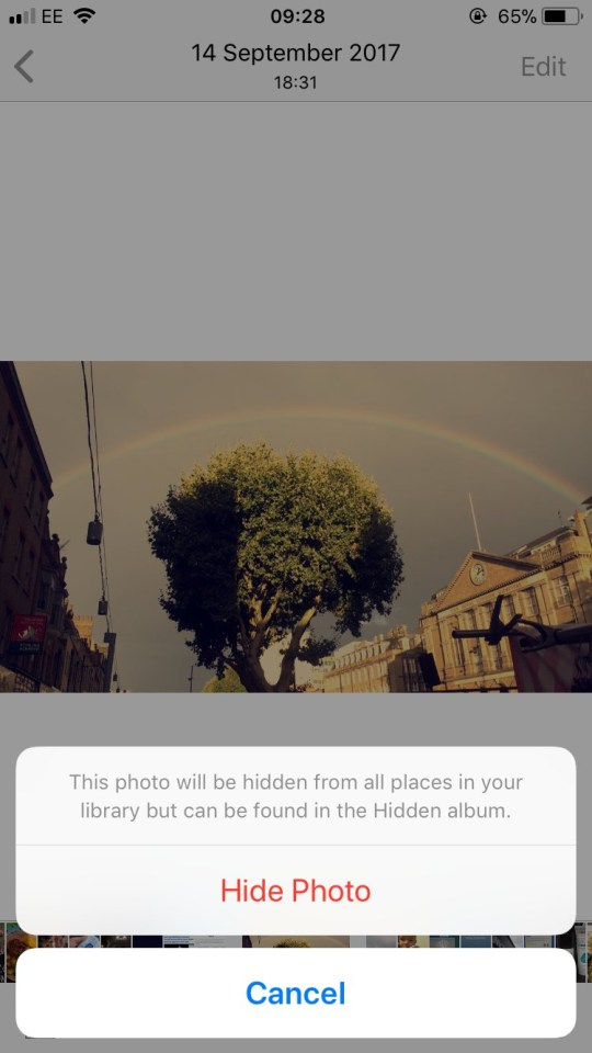 How to hide your iPhone photos and lock them in the 'hidden