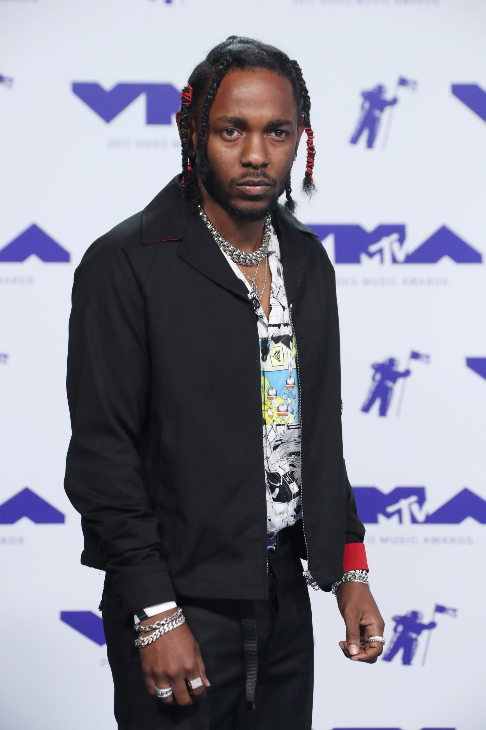 Kendrick Lamar admitted that he believes he was visited by aliens and they're probably the reason he's so big in music (Picture: Matt Baron/REX/Shutterstock)
