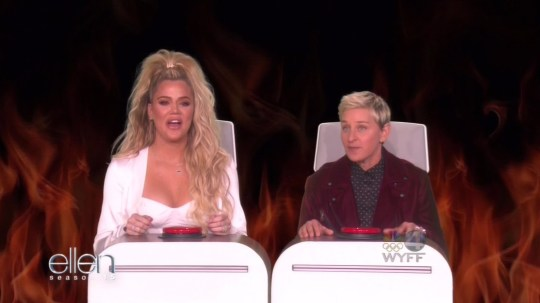 Ellen tries to catch out Khloe Kardashian about Kylie