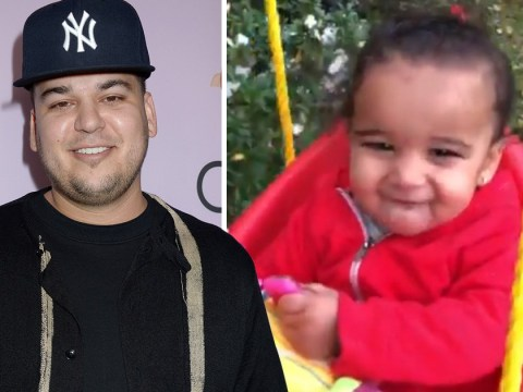 Rob Kardashian shares adorable video of daughter Dream as legal feud with Blac Chyna continues