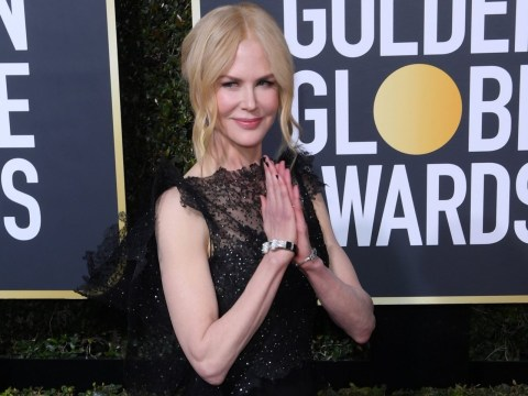Nicole Kidman shocks as she proves she CAN clap properly at Golden Globes