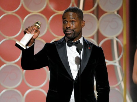 Sterling K Brown makes history at the Golden Globes as the first black man to win for Best Actor in a TV Series