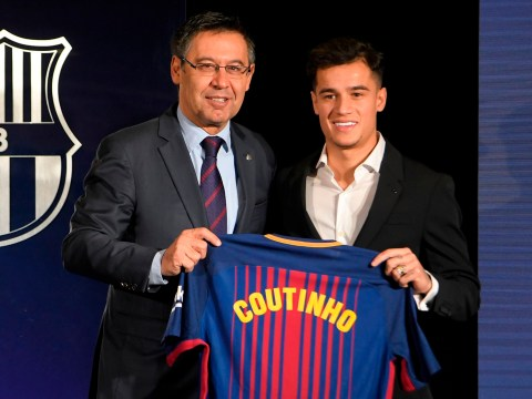 Watch Live: Philippe Coutinho's official unveiling at Barcelona