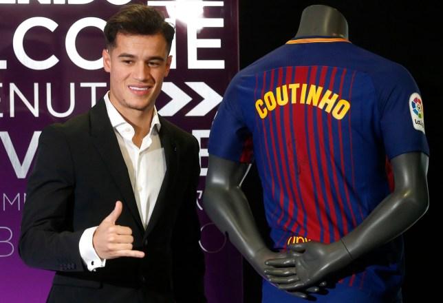 save off e64c5 1f4a3 Liverpool news: Barcelona decide Philippe Coutinho's shirt ...
