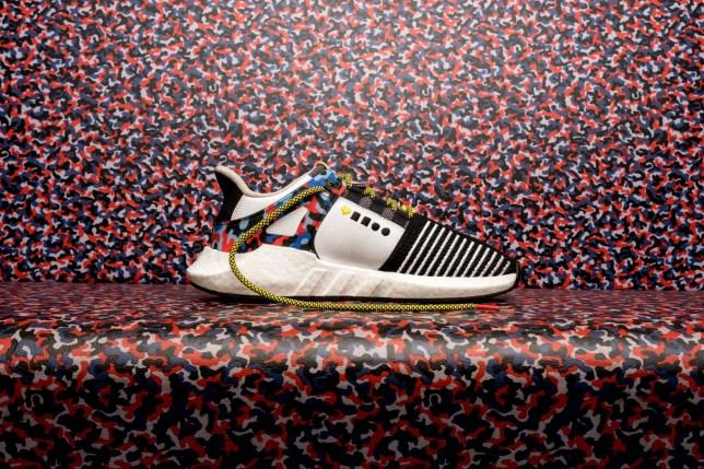 buy popular b6ca0 28899 New Adidas sneaker is made from Berlin subway seats   Metro News