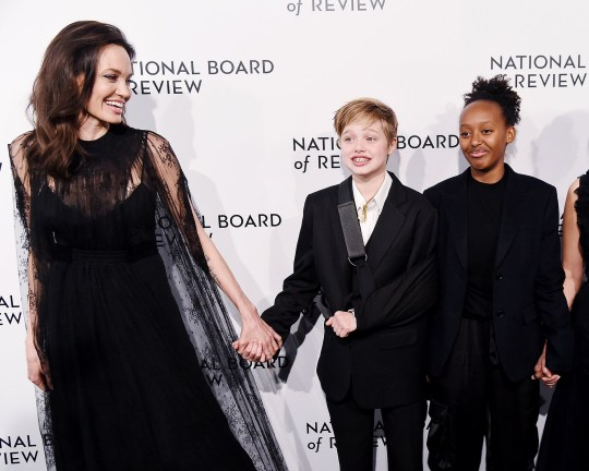 Angelina Jolie Recovers From Jennifer Aniston Run In By