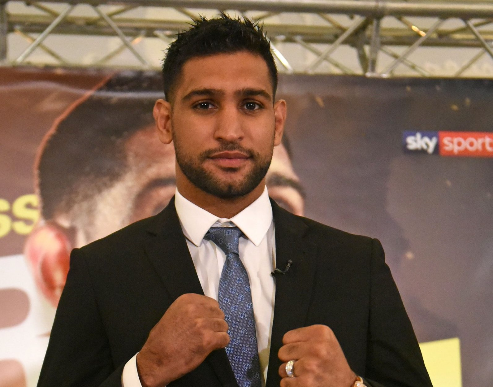 Amir Khan 'arranged secret tryst with woman' hours after live TV appearance where he spoke of repairing marriage