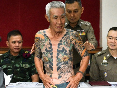 Elderly Yakuza boss arrested for unsolved murder case after tattoos go viral