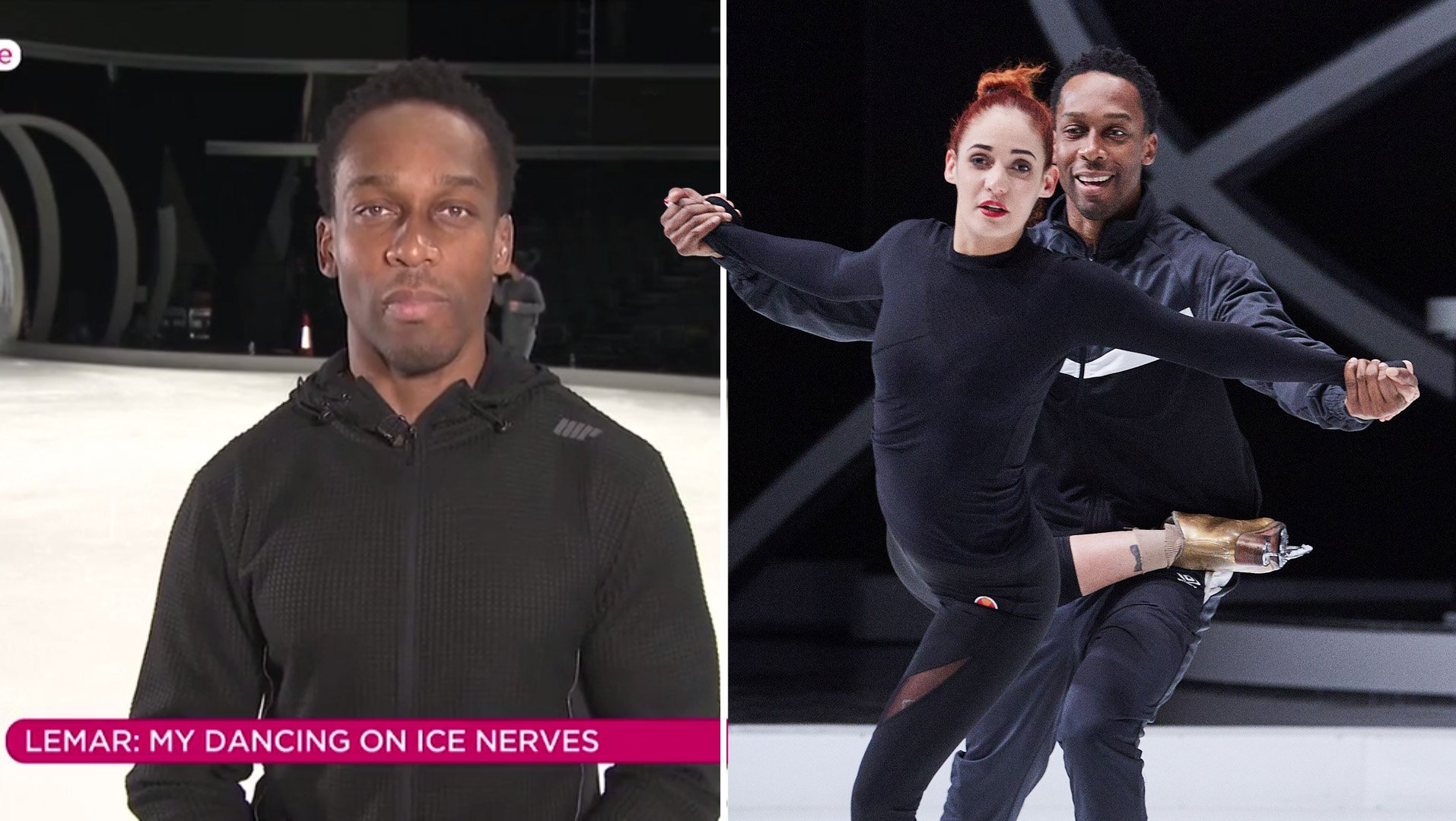 Lemar reveals intense injuries ahead of Dancing On Ice solo debut: 'My groin is very painful!'