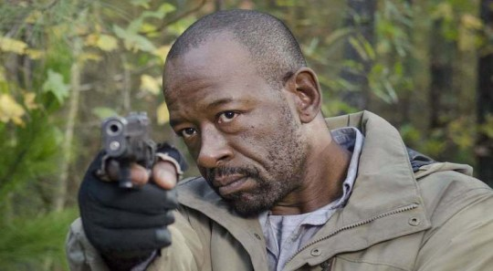 Fear The Walking dead series four is back in April, and will feature Morgan Jones (Lennie James) - the first Walking Dead crossover in the show (Picture: AMC)