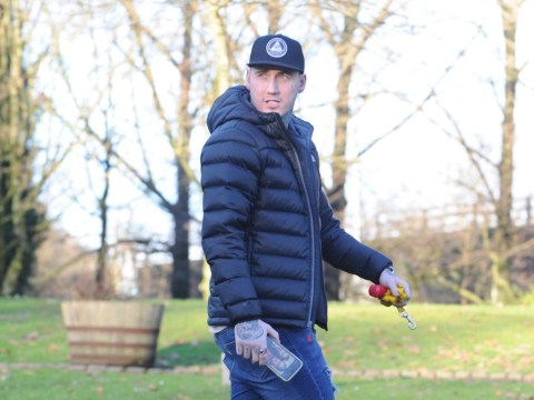 Jeremy McConnell pictured walking dog after ex Stephanie Davis brands him 'total disgrace'