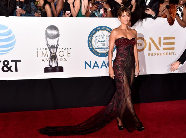 Halle Berry at NAACP Awards