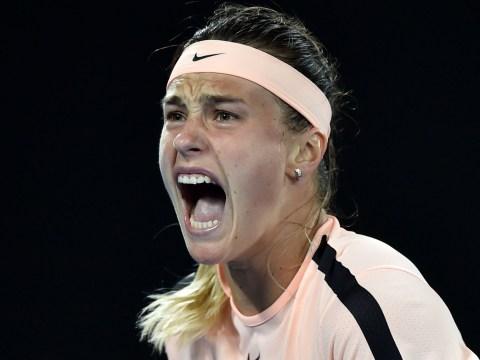 Australian Open crowd mock Aryna Sabalenka's grunt during first round match
