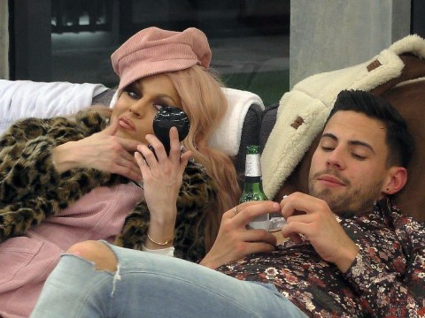 Celebrity Big Brother: Andrew and Courtney have suspicious chat in toilet after he's saved from eviction
