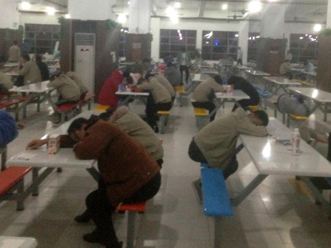 Factory that supplies Apple denies horrific working conditions in China