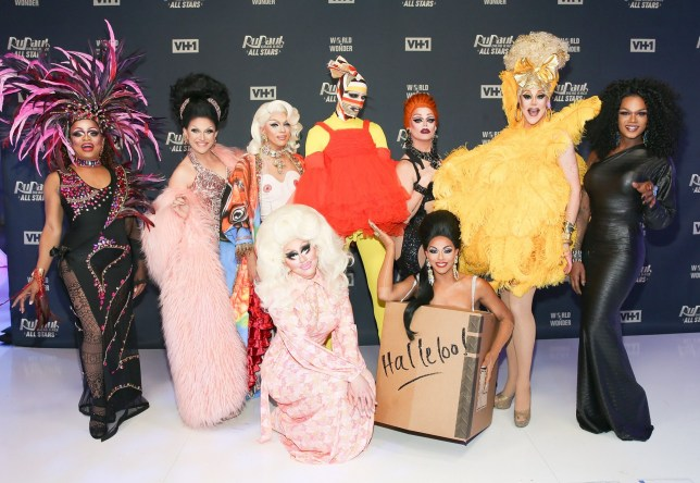 RuPaul Drag Race all stars season three launch red carpet